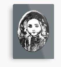 Antique doll Metal Print