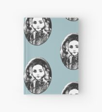 Antique doll Hardcover Journal