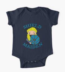 shieldmaiden doodle Kids Clothes