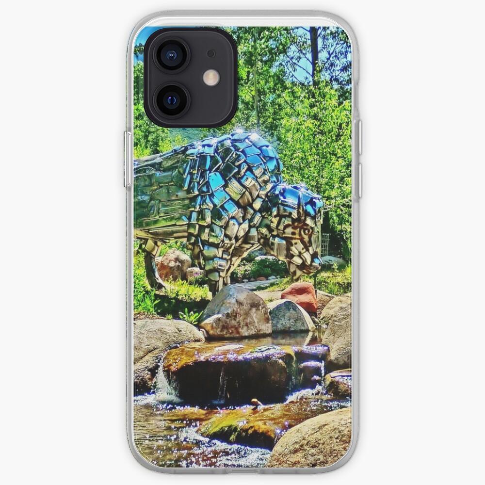 Buffalo, John Denver Park, Roaring Fork River, Aspen iPhone Case & Cover