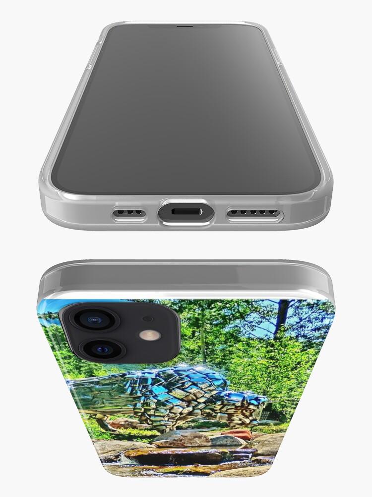 Alternate view of Buffalo, John Denver Park, Roaring Fork River, Aspen iPhone Case & Cover
