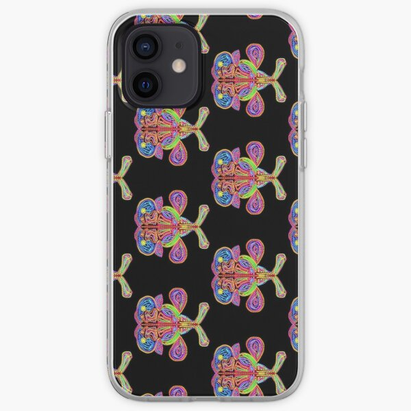 Psychedelic ichthus fish iPhone Soft Case