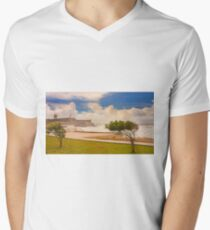 Forte de S.Julião. Carcavelos V-Neck T-Shirt