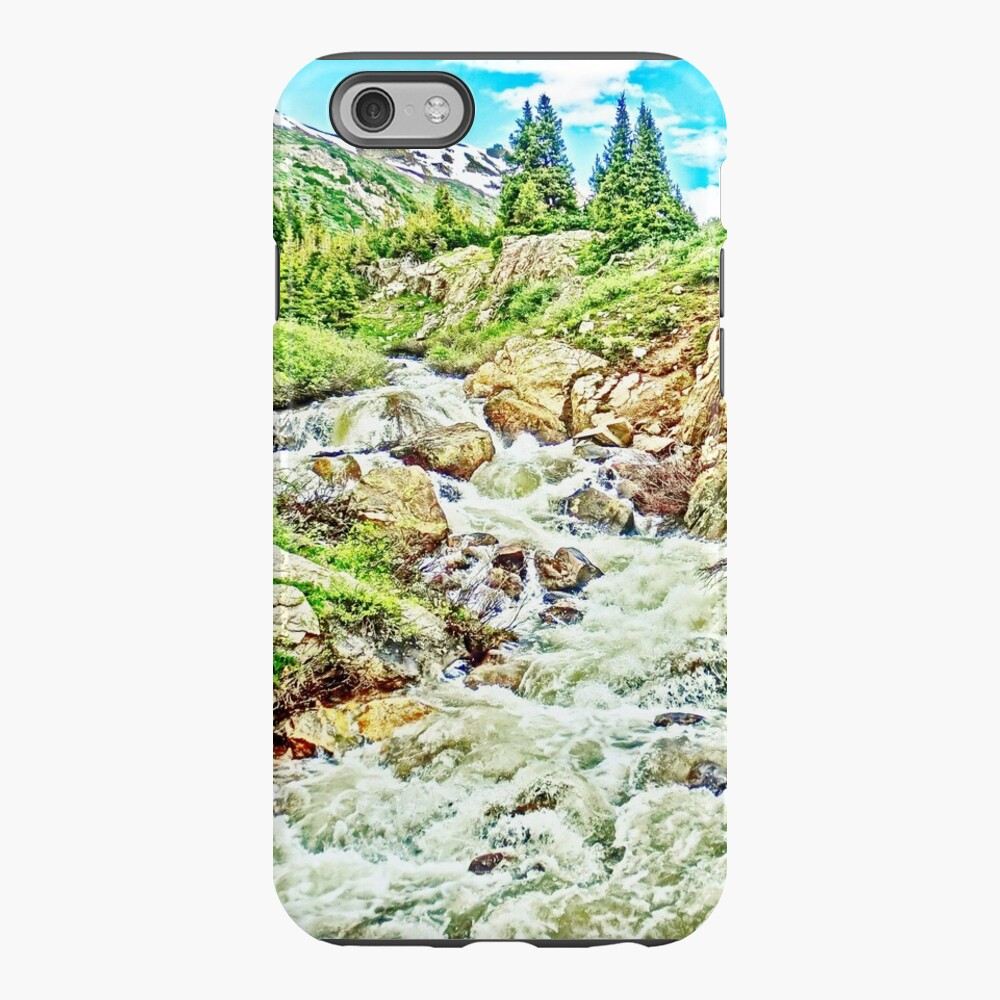 Roaring Fork River, Headwaters No. 3  iPhone Case & Cover
