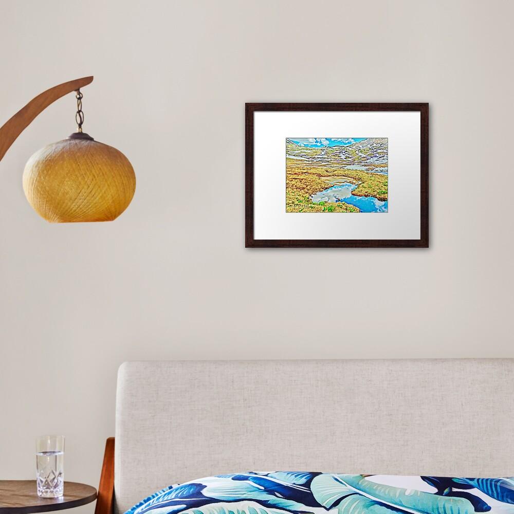 Roaring Fork River, Headwaters No.7 Framed Art Print