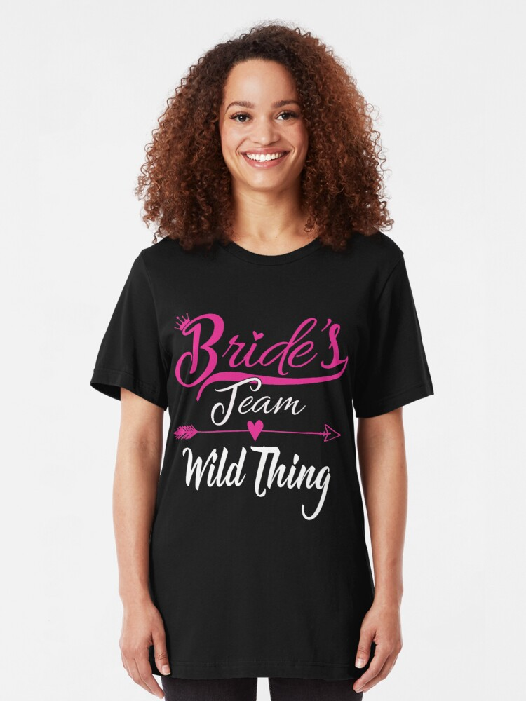 Krezy Case Funny Team Bridee Tank Top Black