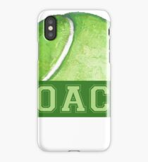 Tennis Coach iPhone Case