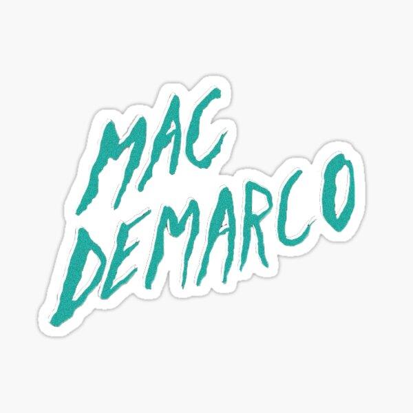 mac demarco 2 title Sticker