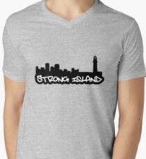 Long Island NYC 01 Men's V-Neck T-Shirt
