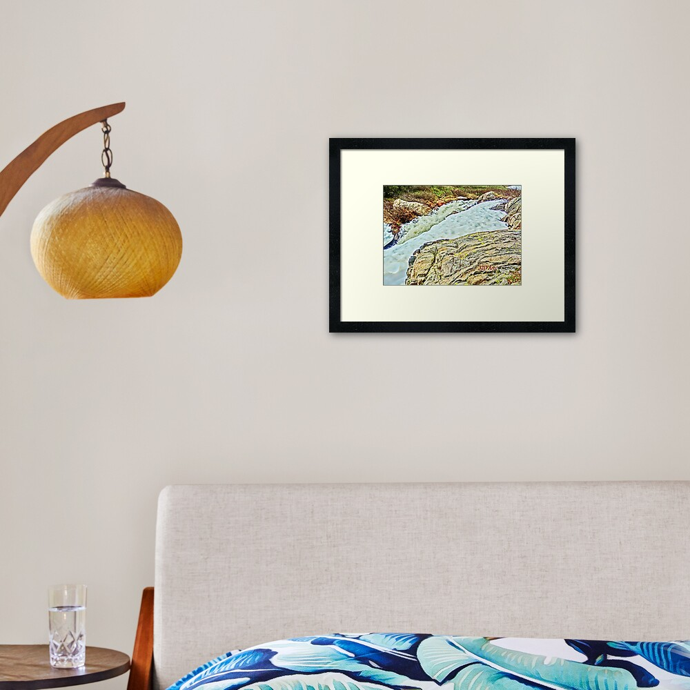 Roaring Fork River, Headwaters No. 10 Framed Art Print
