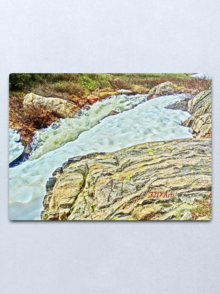 Alternate view of Roaring Fork River, Headwaters No. 10 Metal Print
