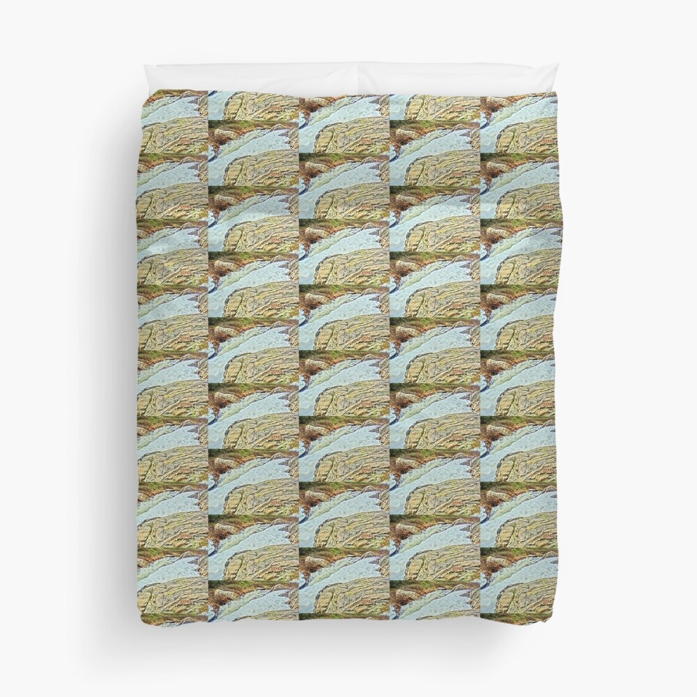 Roaring Fork River, Headwaters No. 10 Duvet Cover