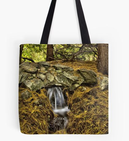 Little water fall Tote Bag