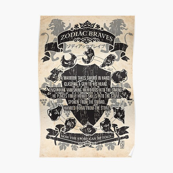 Zodiac Braves Poster