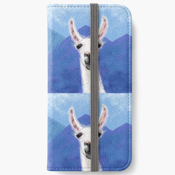 The Smiling Llama iPhone Wallet