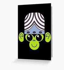 Cute Mojo Jojo Greeting Card