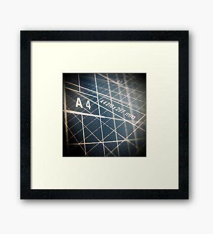 DIN A4 Framed Print