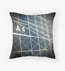 DIN A4 Throw Pillow