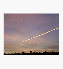 air traffic  Photographic Print
