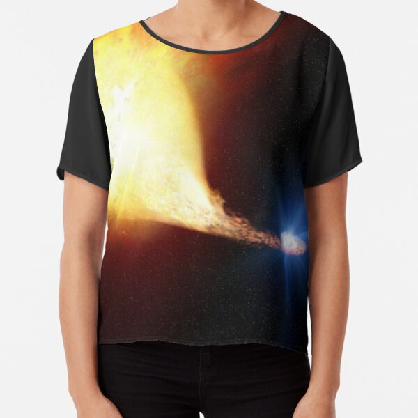 Explosive supernova Chiffon Top