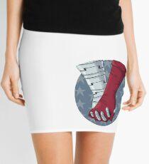 'Til the End- Stuck Mini Skirt