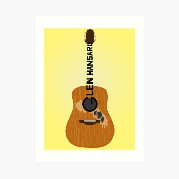 Hansard Guitar Art Print