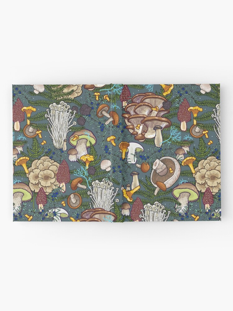Alternate view of mushroom forest Hardcover Journal