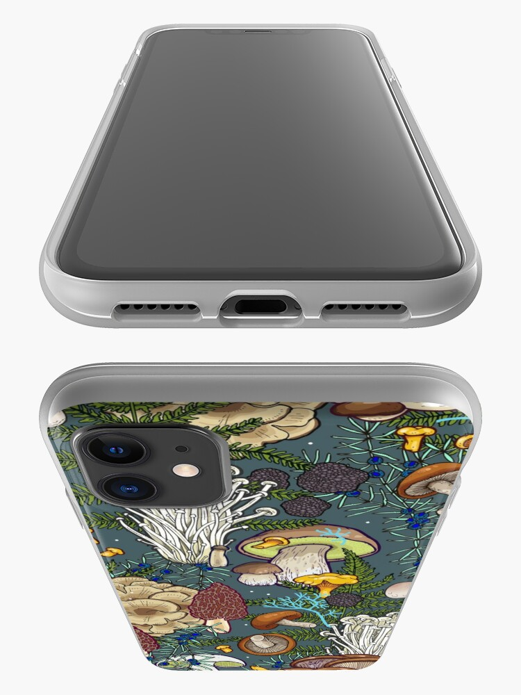 Alternate view of mushroom forest iPhone Case & Cover