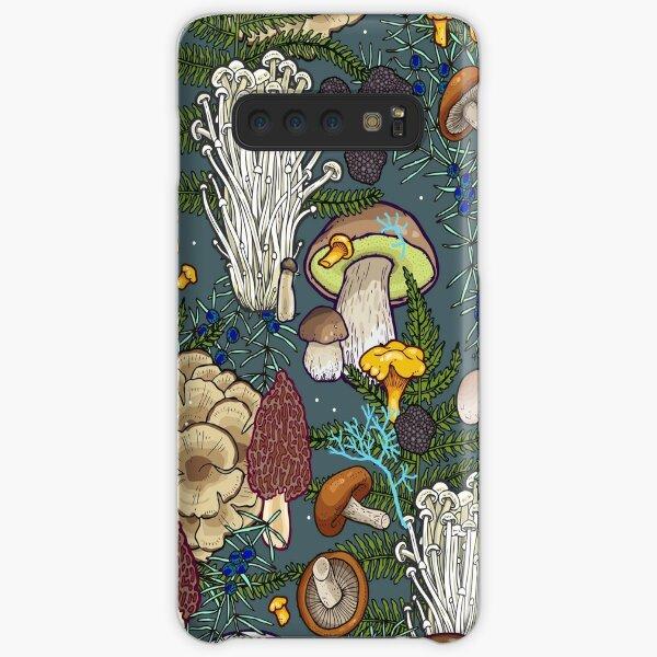 mushroom forest Samsung Galaxy Snap Case