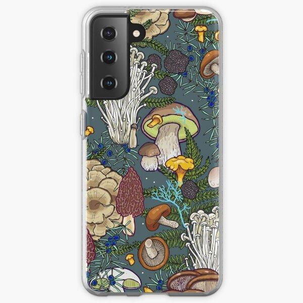 mushroom forest Samsung Galaxy Soft Case