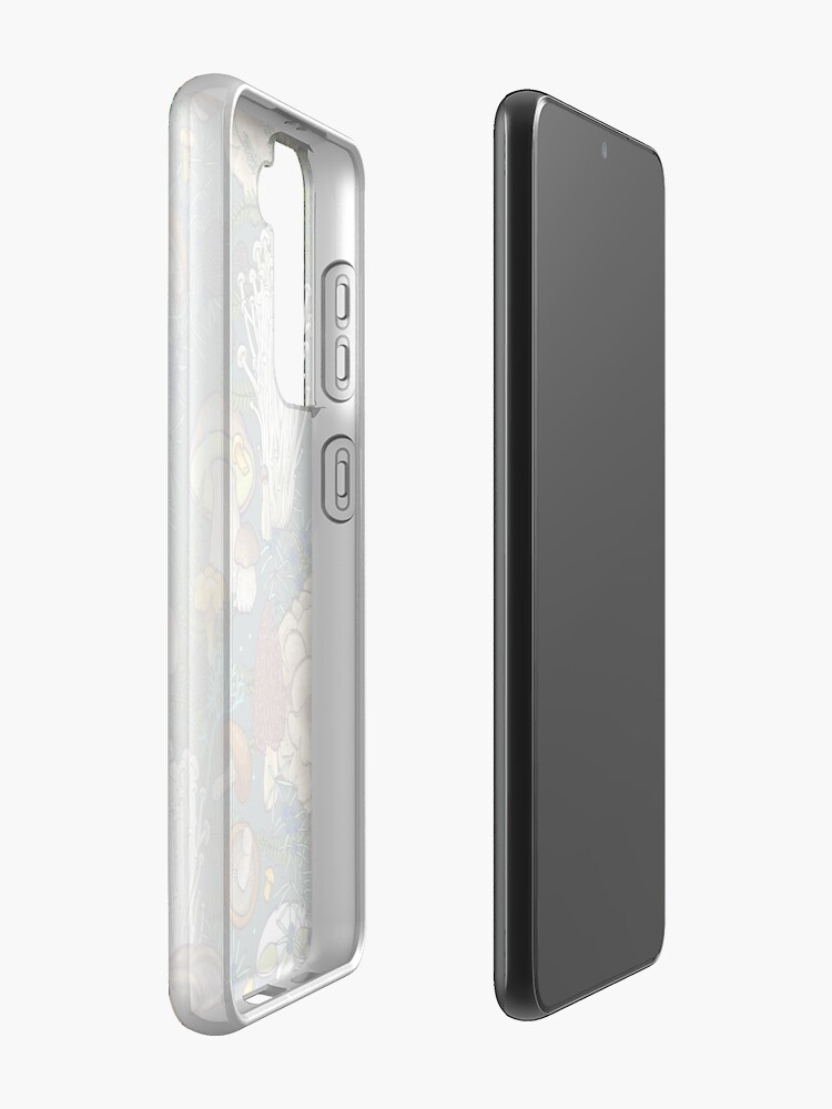 Alternate view of mushroom forest Case & Skin for Samsung Galaxy