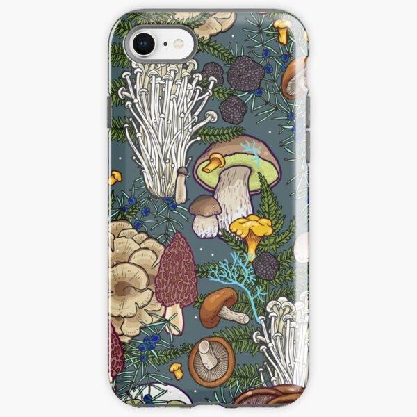 mushroom forest iPhone Tough Case