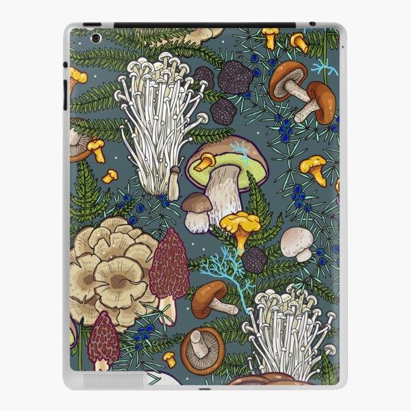 mushroom forest iPad Skin