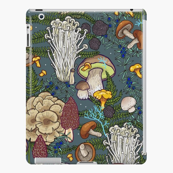 mushroom forest iPad Snap Case