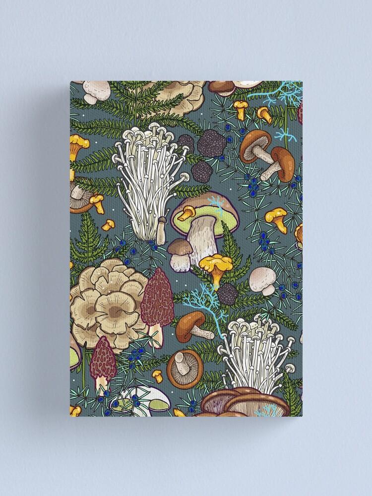 Alternate view of mushroom forest Canvas Print