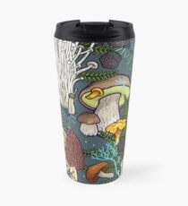 mushroom forest Travel Mug