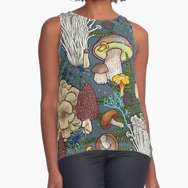 mushroom forest Sleeveless Top