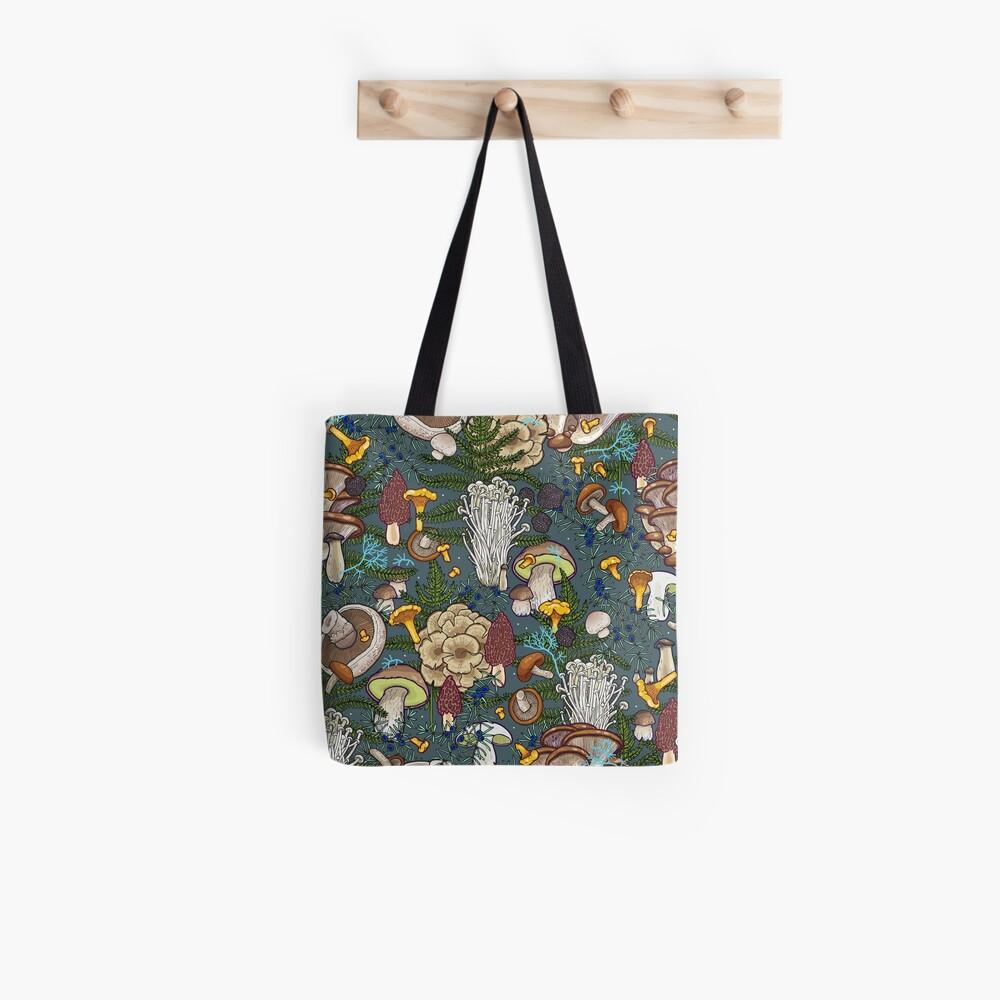 mushroom forest Tote Bag