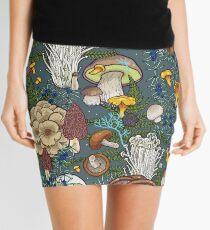 mushroom forest Mini Skirt