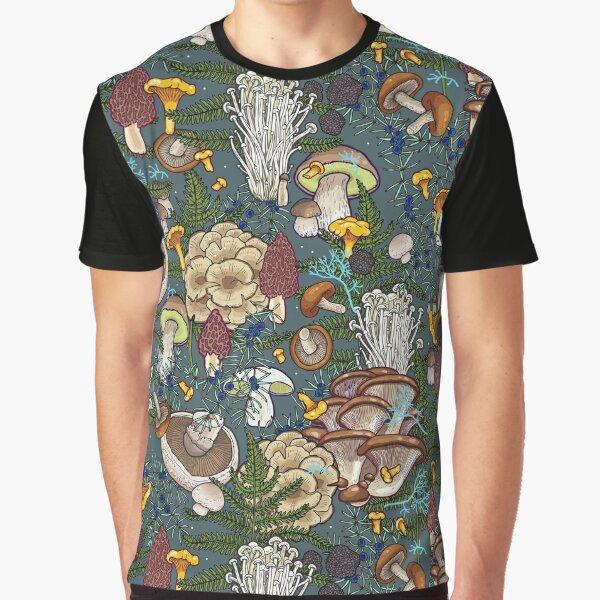 mushroom forest Graphic T-Shirt