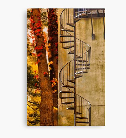 ESCAPE TO THE FALL Metal Print