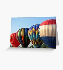 Balloons, Attention!!! Greeting Card