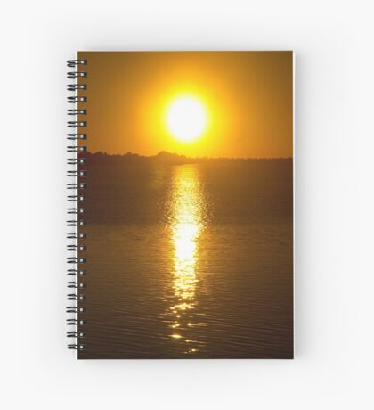 Sunset Over Lake Dora Spiral Notebook