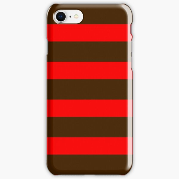 Red and brown iPhone Snap Case