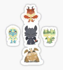Baby Dragons How To Train Your Dragon 2 Sticker