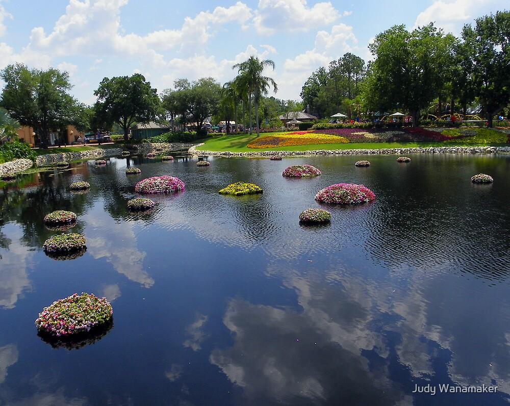Floating Flowers by Judy Wanamaker