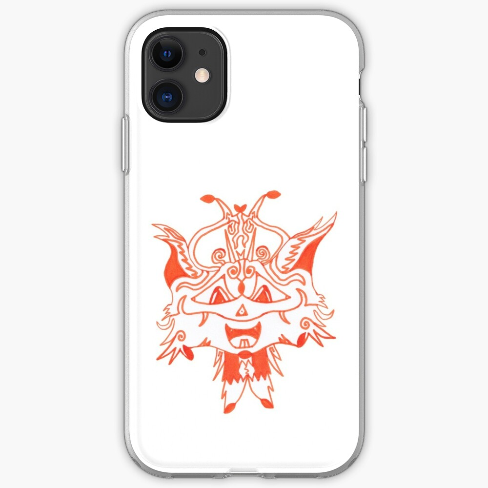 Merch #41 -- Fancy Fox Face iPhone Case & Cover