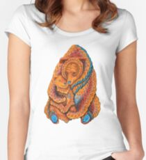 Mother Bear Fitted Scoop T-Shirt
