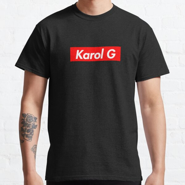 Pegatina Karol G de alta calidad - Karol G Anuel AA Camiseta clásica