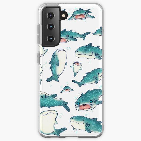 whale sharks! Samsung Galaxy Soft Case